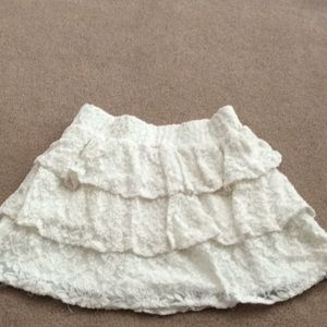 Dresses & Skirts - Lace white skirt